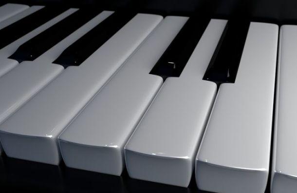 Уличное пианино наПетроградке залили цементом