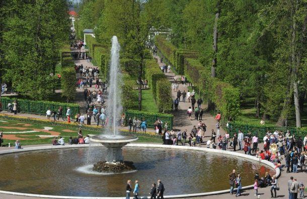 Петергоф нетолько «столица фонтанов»