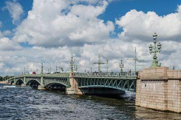 Ночью 13июня разведут только Троицкий мост