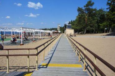 Два десятка петербургских пляжей подготовили клету