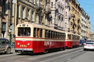 Трамваи ввыходные будут обходить Лиговский проспект