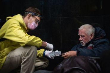 Уличная медицина— год вПетербурге