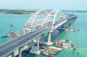 Железнодорожное движение поКрымскому мосту запустят вдекабре
