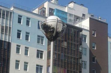 Рой пчел поселился надетской площадке наАрцеуловской улице