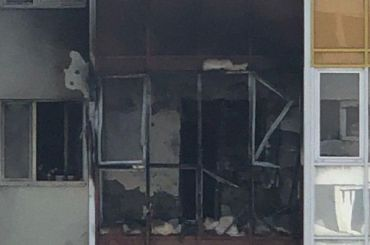 Выброшенный окурок спровоцировал пожар вШушарах