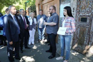 НаВасильевском острове может появиться новая пешеходная зона
