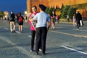 Блогера Соколовского задержали запикет наКрасной площади