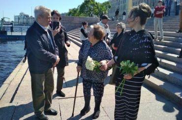 Память убитых вгоды Большого террора почтили вПетербурге