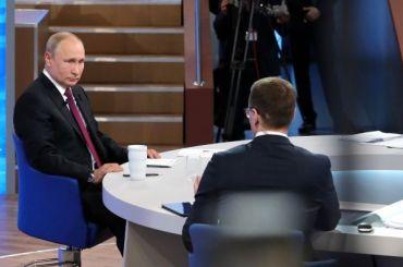 Путин: Зарплаты врачей вцелом постране растут