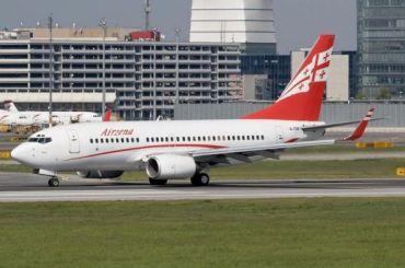Полеты грузинских авиакомпаний вРоссию приостановят с8июля