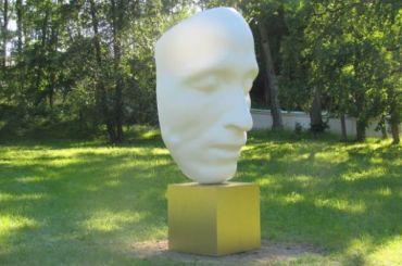 Петербуржцы возмутились посмертной маской Пушкина вПетергофе