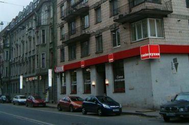 Фасадные леса ограничат движение поБольшой Пушкарской улице