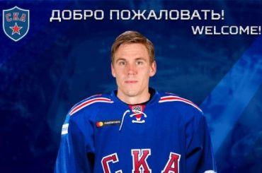 СКА объявил опереходе финского нападающего Лехтеря