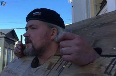 Полиция задержала активиста попути намитинг против свалки наШиесе