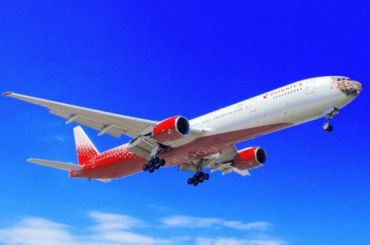 Самолет наПетербург застрял вСимферополе из-за птицы насемь часов