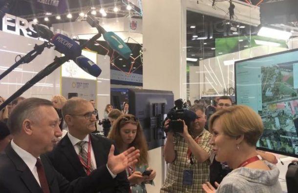 «Цифровой Кронштадт»: МегаФон иПетербург представили «Цифровой двойник города»