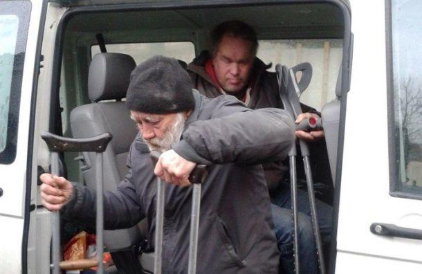 Петербуржцы помогут проекту «Социальное такси для бездомных инвалидов»