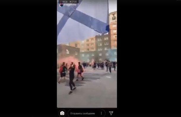 Шумная вечеринка выпускников ВМеда попала вСеть