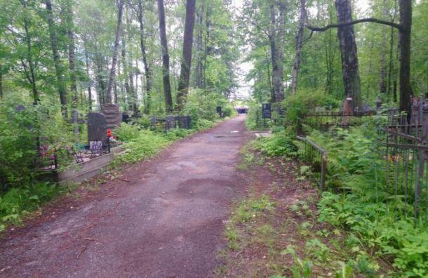 Прощание спогибшими офицерами началось наСерафимовском кладбище