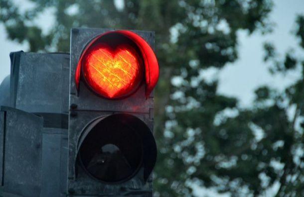 Светофоры наВасильевском острове получили голос