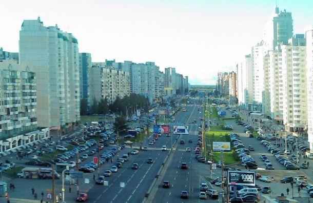 Комендантский проспект закрывают наремонт за185 млн рублей