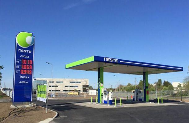 Финская Neste продает заправки вРоссии «Татнефти»