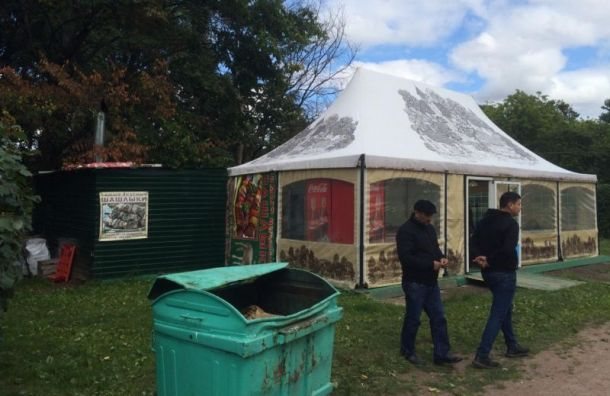 Чиновники после угроз нашли вЮжно-Приморском парке еще два незаконных кафе