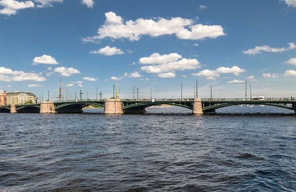 Биржевой мост закроют натри года из-за ремонта