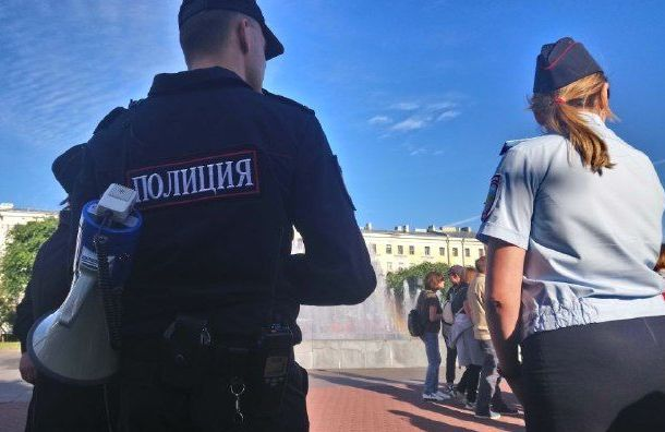 Полиция отлавливает безбилетников наVK Fest