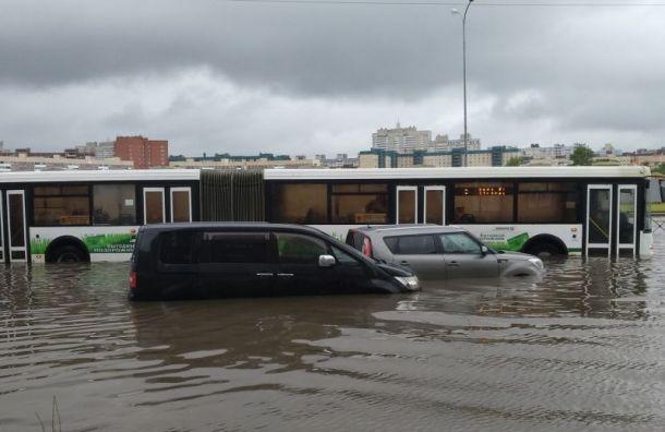 Водоканал прокомментировал потоп насевере города
