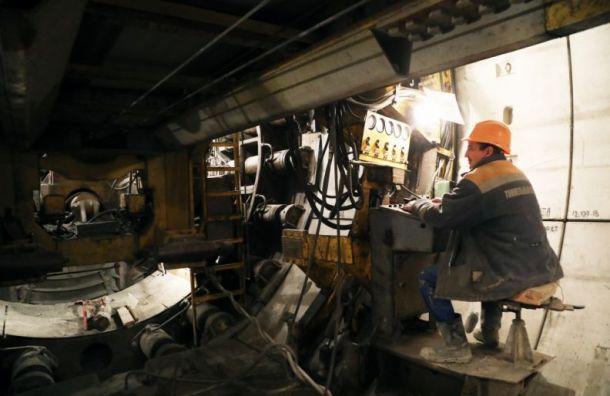 Построили первый километр тоннеля от«Юго-Западной» до«Путиловской»