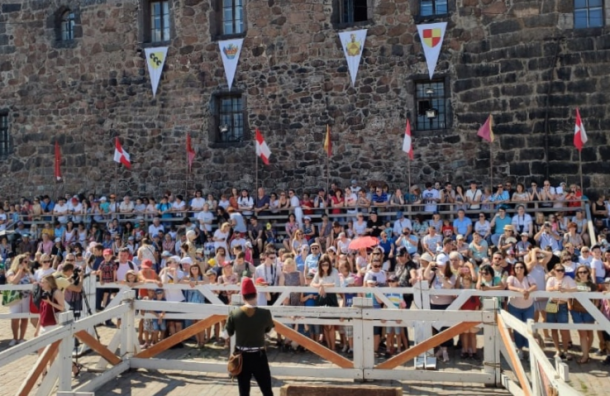 Рыцарский турнир проходит вВыборге
