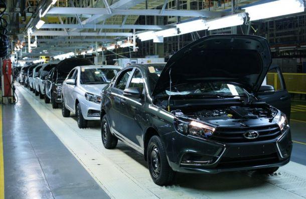 «АвтоВАЗ» объявил ополной приостановке производства
