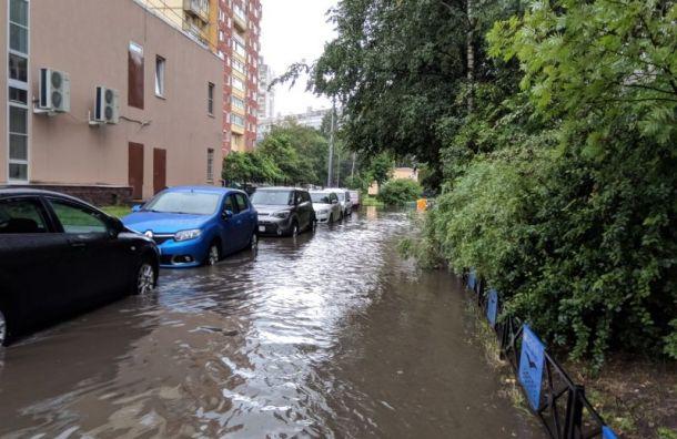 Раздельную канализацию построят из-за сильных ливней