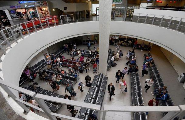 Аэропорт Пулково заполгода обслужил 8,7 млн пассажиров