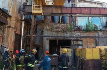 НаБалтийском судостроительном заводе горел баллон сацетиленом