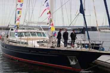 Яхта эстонской кругосветной экспедиции иприбыла вКронштадт