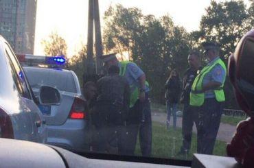Петербуржцы помогли ДПС задержать пьяного водителя