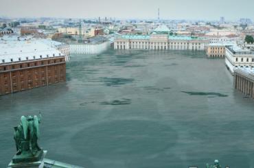 Greenpeace «состарил» Петербург спомощью EarthApp