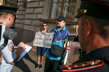Незарегистрированные кандидаты устроили пикеты уГоризбиркома