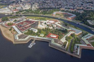 Петропавловская крепость возглавила список популярных мест утуристов