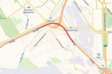 Участок КАД между Таллинским шоссе иДачным проспектом отремонтируют