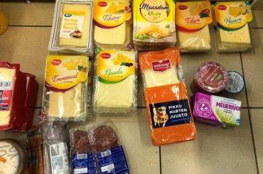 Утуристов изъяли полтонны продуктов награнице сПетербургом