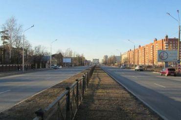Участок Выборгского шоссе уКАД отремонтируют за163 млн рублей