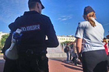 Полиция уже сутра готовится кмитингу наплощади Ленина