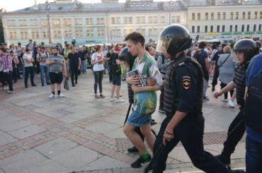 ВЕвросоюзе отреагировали намассовые задержания намитинге вМоскве