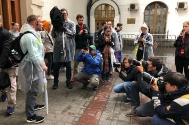 Петербургский бездомный расскажет ожизни наПлощади трех вокзалов