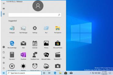 Обновленное меню «Пуск» вWindows 10 случайно показали пользователям
