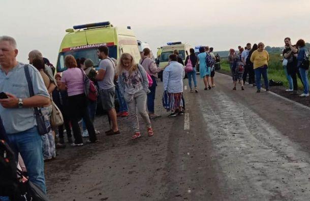 Число пострадавших при аварийной посадке A321 вЖуковском достигло 23 человек