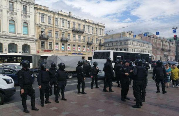 Задержания начались вПетербурге наакции зачестные выборы